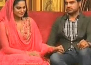 Veena Malik & Asad Bashir Facing Youth For the First Time