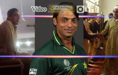 Another side of Shoaib Akhtar. Watch him doing Tableegh in a Masjid