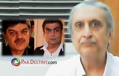 Salman Iqbal and Mubashir Lucman in hot water
