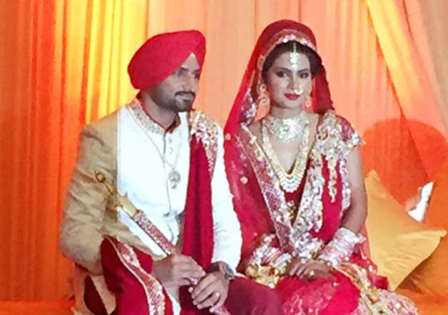 Harbhajan Singh takes the wedding plunge with Geeta Basra Check out marriage day shoot (3)