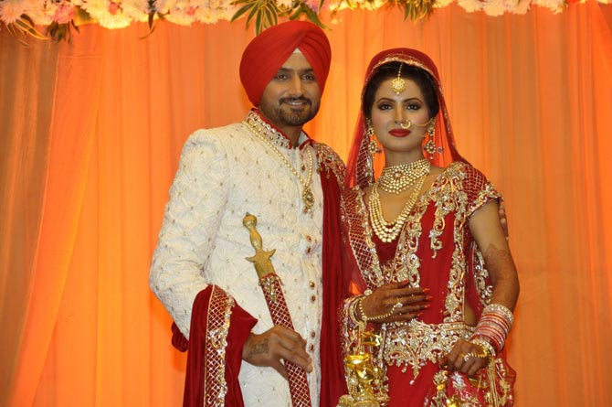 Harbhajan Singh takes the wedding plunge with Geeta Basra Check out marriage day shoot (4)