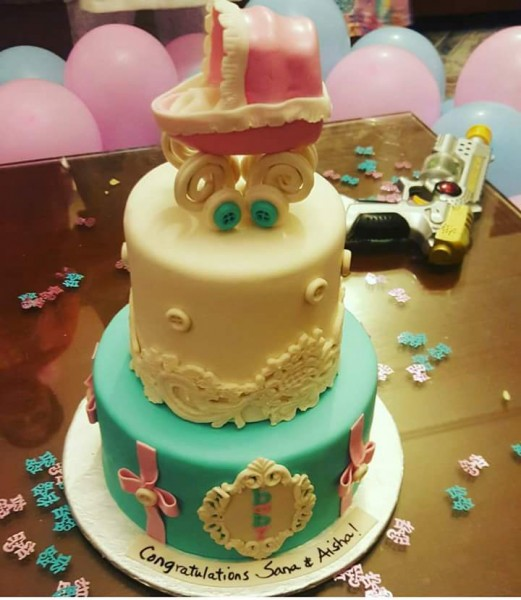 Lets celebrate the baby shower of Mrs.Fahad Mustafa (2)