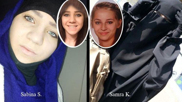 Isis teenage 'poster girl' Samra Kesinovic 'beaten to death' as she tried to flee the group (1)