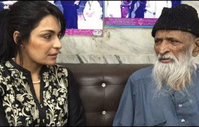 meera ji with abdul sattar edhi sb