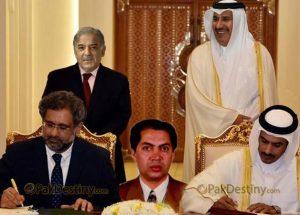 saif ur rehman,qatri prince,shahid khaqan abbasi,shahbaz sharif,lng agreement