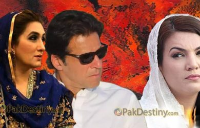 reham jealous bushra imran khan