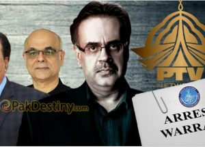 As FIA gets arrest warrants of Dr Shahid Masood other former PTV MDs Malick and Qasimi also in the dock