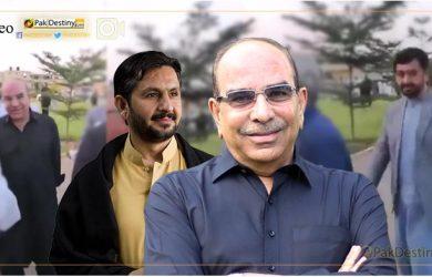 malik riaz saleem saif caught on camera