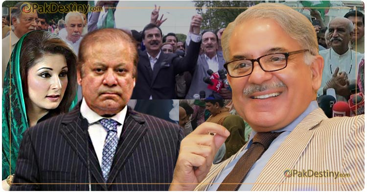 Nawaz camp is furious at Shahbaz for again missing big protest show