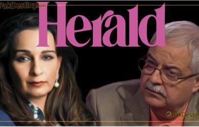 hameed haroon,sherry rehman,herald