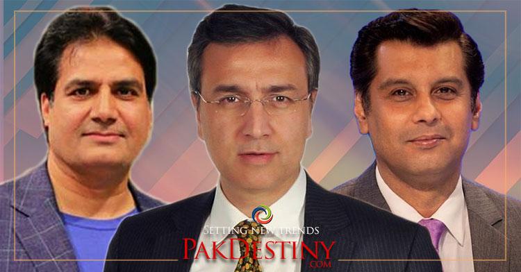 Pro-PTI anchors fast losing their faith in PM Khan,arshad sharif,sabir shakir,moeed pirzada