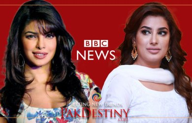 Mehwish Hayat cuts a sorry figure in BBC World program