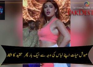 mehwish hayat criticism dance controversy