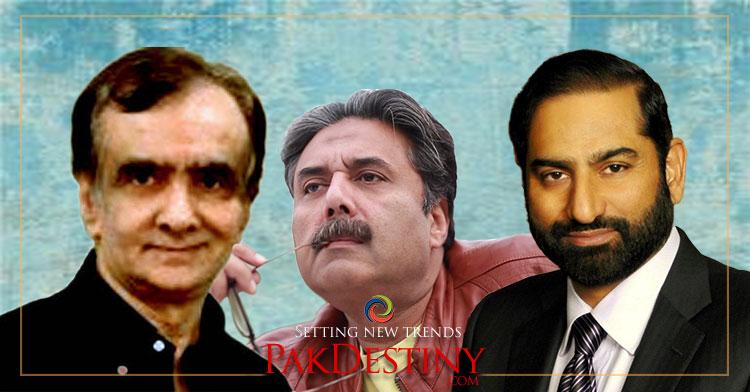mian amer,aftab iqbal,sultan lakhani, Journalists in Pakistan decrying at owners 'cruel' attitude