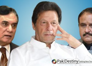 PM Khan in a fix to send home his NAB-tainted Wasim Akram-plus and other three lawmakers or be equated with Sharifs