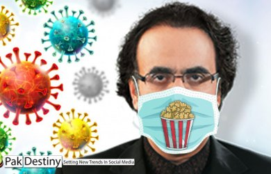 """After 37 fake accounts humiliation, Dr Shahid Masood comes up with another goof-up -- """"popcorns best defence against Covid-19"""""""