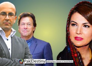 PM Imran Khan's ex-wife Reham Khan brutally trolled on social media as she has to apologise from Anil Musarat on a Fake story