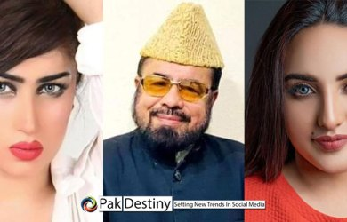 Hareem's slap in the face of Mufti Qavi is echoing on social media