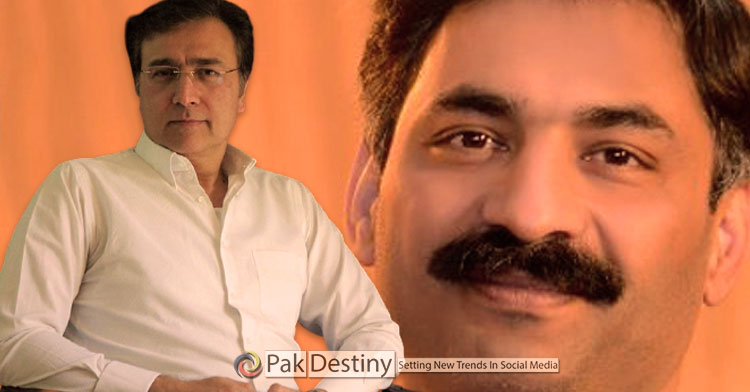92 News anchor Moeed Pirzada serious allegations from journalist Ahmad Noorani