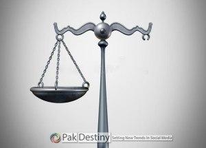 Justice system dies pakistan