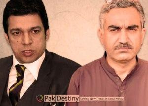PTI Punjab Minister Sardar Hasnain Bahadar Dreshak calls Faisal Vawda cheap and wicked man