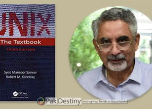 Prof. Dr. Syed Mansoor Sarwar unix the textbook Robert M. Koretsky