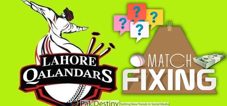 Lahore Qalandars four straight defeats in PSL-6 ensues debate of fixing