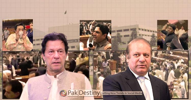 Who introduced hatred in Pakistan politics -- Imran or Nawaz?