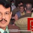 BOL journalist Asad Kheral --- now in police custody for beating policemen
