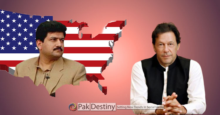 After blatant comments on PM Imran Khan and agencies, Hamid Mir seeking his future in America