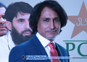 A 'message' from Rameez Raja that forces Misbah and Waqar to resign without a second thought