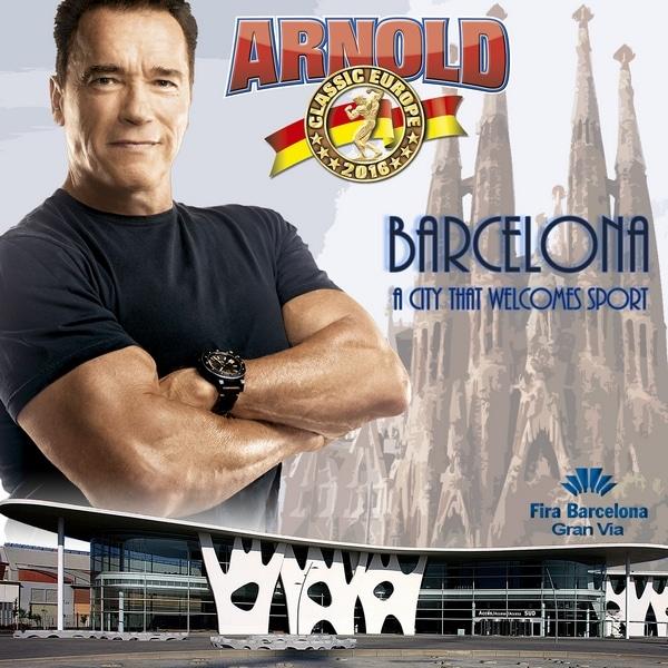 arnold classic barcelona