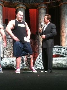 Arnold classic strongman zawody Schwarzeneggera