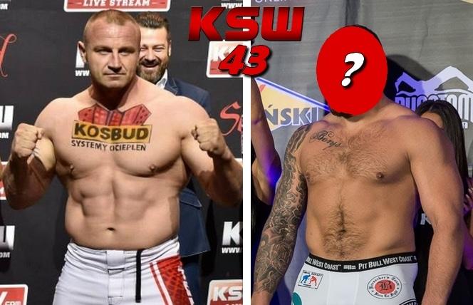 mariusz pudzianowski vs karol bedorf ksw 43