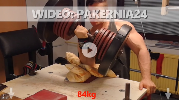 Armwrestler trening wideo