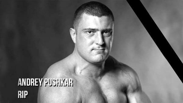Andrey Pushkar nie żyje armwrestler