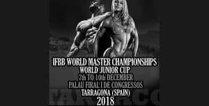 mistrzostwa świata kulturystyka i fitness tarragona 2018