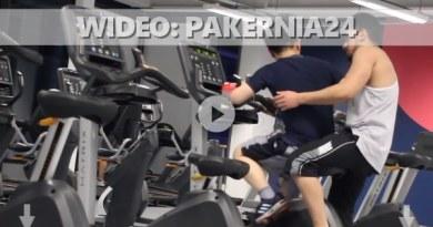 wideo prank siłownia