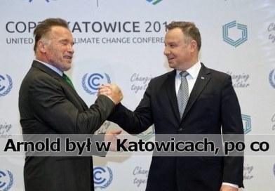 Arnold Schwarzenegger Katowice 2018 Andrzej Duda