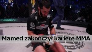 Mamed Chalidow, Khalidov zakończył karierę MMA