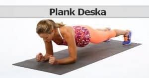 plank deska ćwiczenie na brzuch
