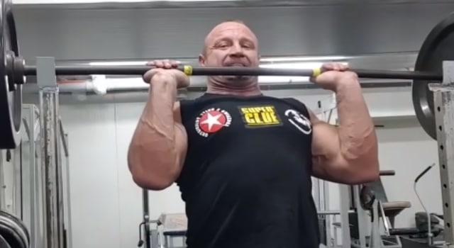 Pudzianowski trenuje barki 2018 rok