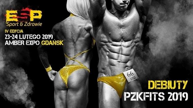 debiuty kulturystyka i fitness gdańsk 2019 pzkfits