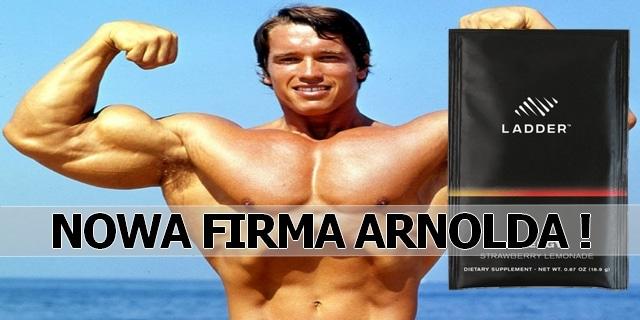 Arnold Schwarzenegger nowa firma ladder suplementy diety
