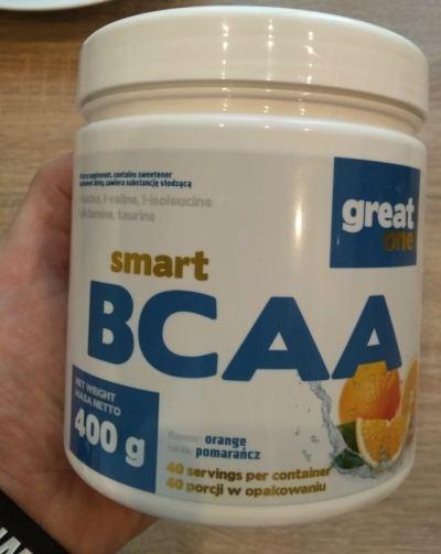 BCAA smart greatone pomarańcza test