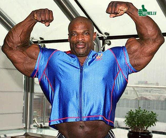 Ronnie Coleman biceps 61 centymetrów