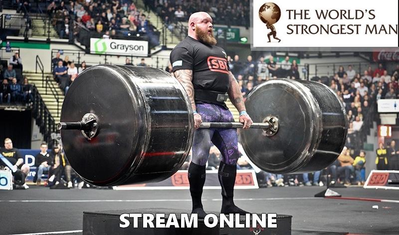 strongman 2020 mistrzostwa świata stream transmisja online