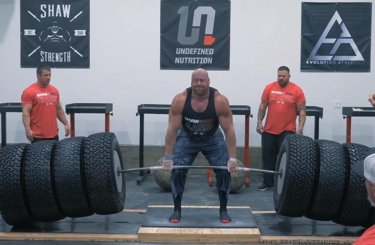 jf caron rekord martwy ciąg 545 kilogramów