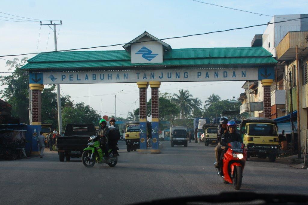 Objek wisata di sekitar Tanjung Pandan