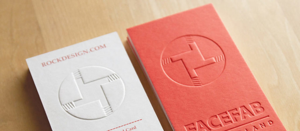 Premium embossing for custom packaging.